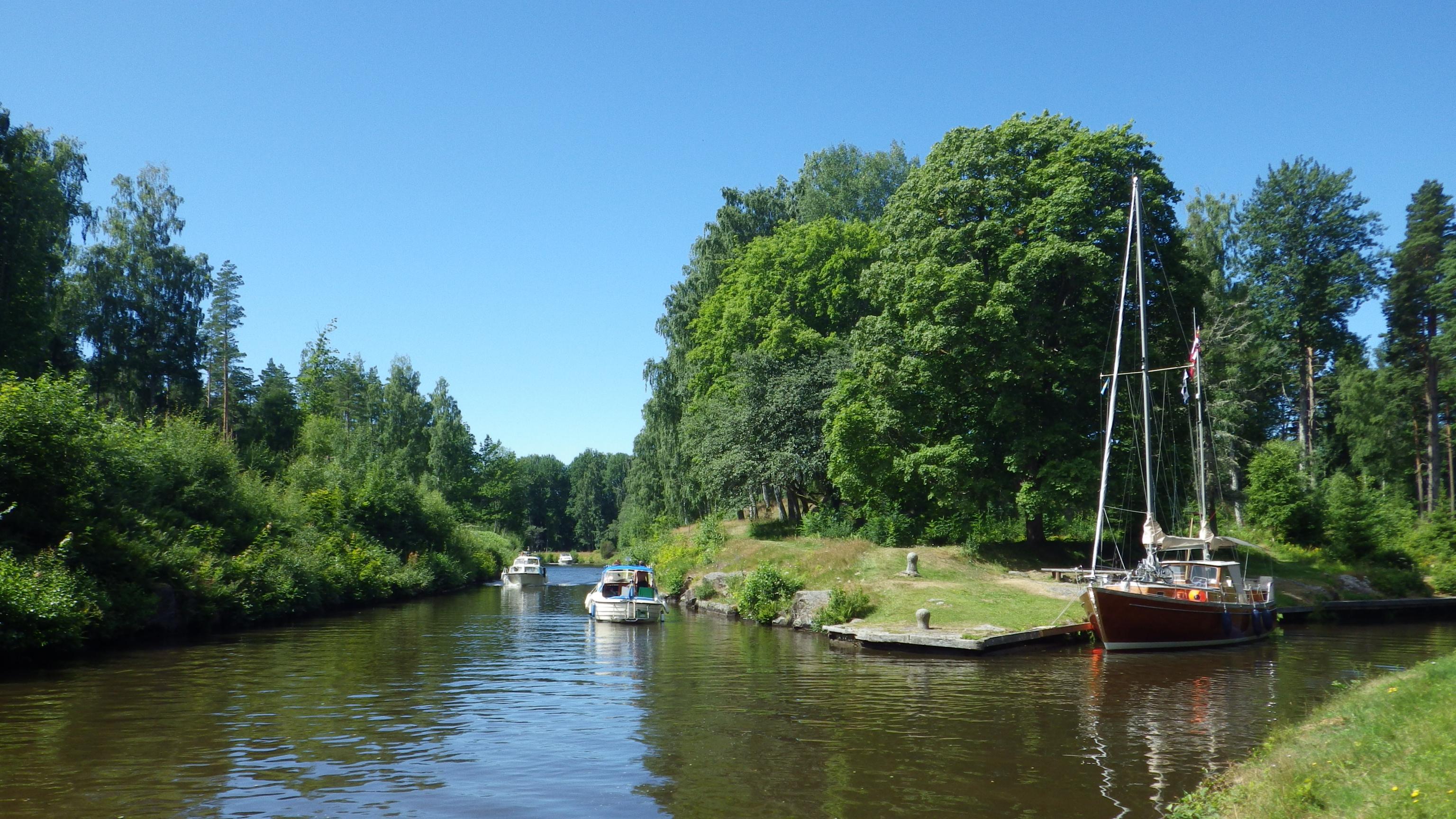 göta kanal kryssning sjötorp-töreboda